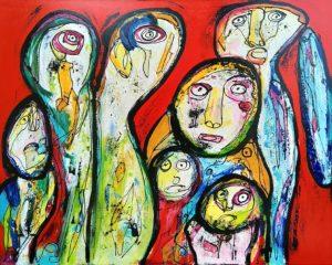 Maleri: Den lange rejse