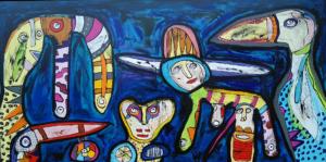 Maleri: Somit wir nicht verpassen