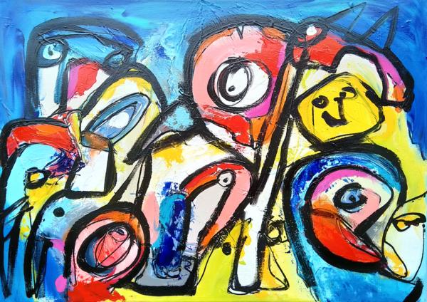 Maleri: Pac-man Turner Overdrive