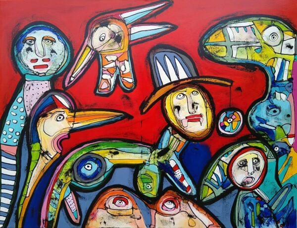 Maleri: Du er morgengym for mine øjne