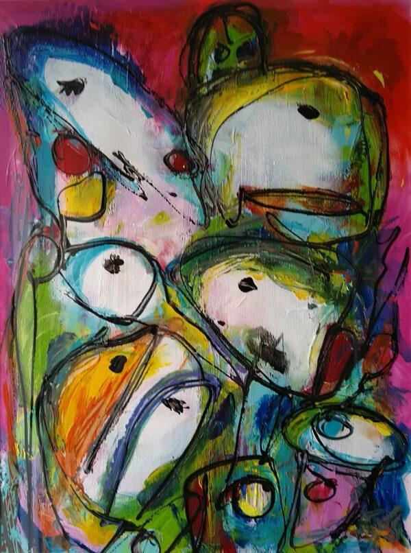 Maleri: Uden titel #4_10