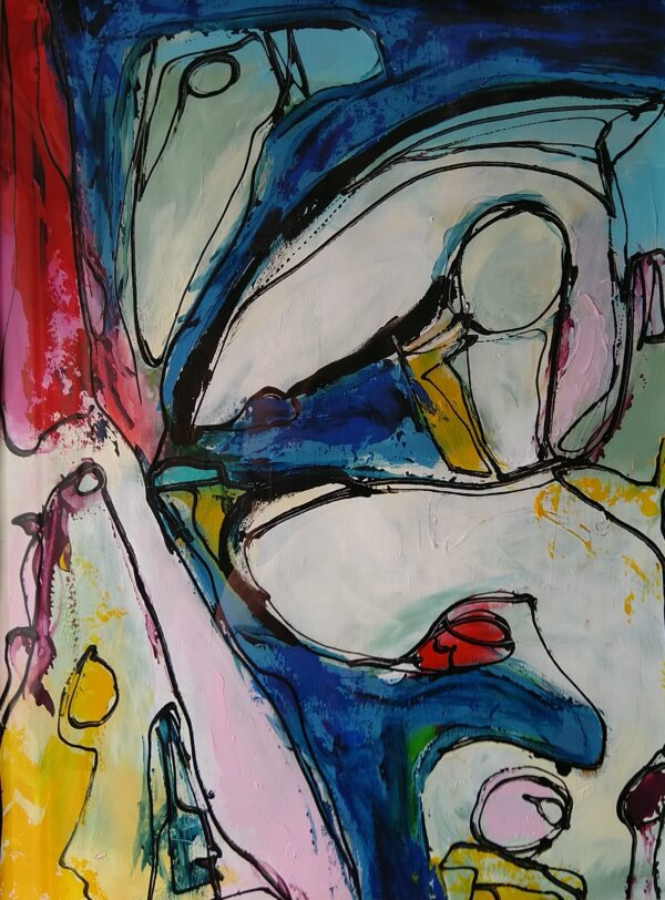 Maleri: Uden titel #4_11