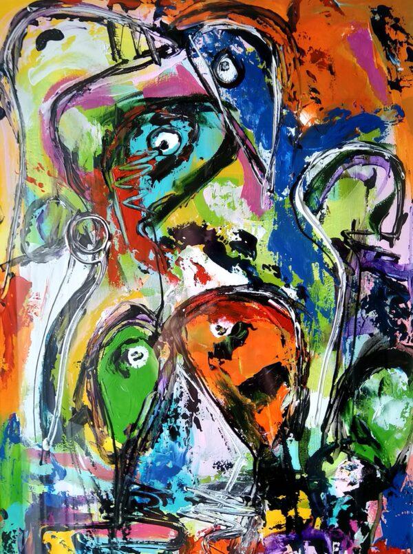 Maleri: Uden titel #4_14